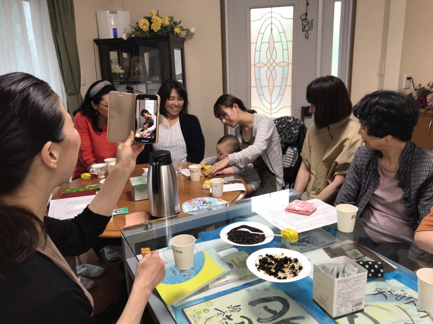 雪絵先生とご一緒にお茶会を開催(シン・セシア)