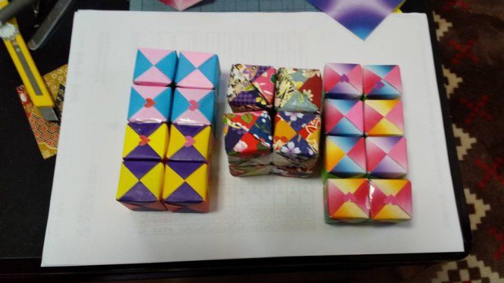 アジアンタムの箱と折り紙(シン・セシア)